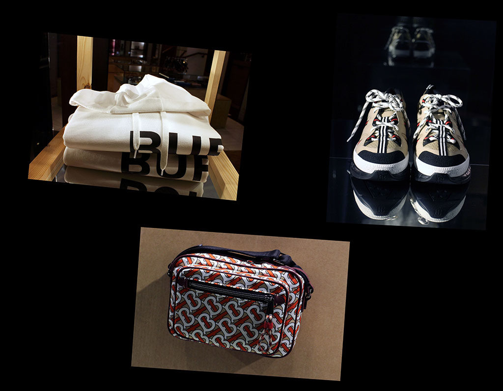 in store with…Burberry
