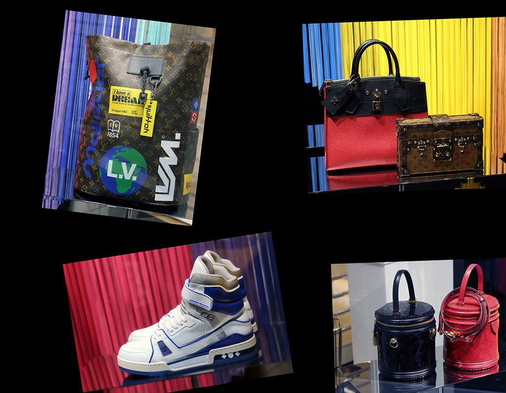 in store with…Louis Vuitton