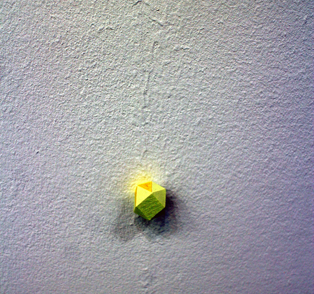 FOLD Gallery..>The exhibition seeks to develop a conversation between two series or rather two categories of work by artists Patrick Lundberg and Oliver Perkins. Lundberg's 'Sets' and Perkins' 'string and dowel works'. The affiliation between these bodies of work lies broadly in both artist's co-habitation of a position in painting that seeks to circumvent representation and more precisely, in closely calibrated attempts, to invoke the world through perceptual experience.