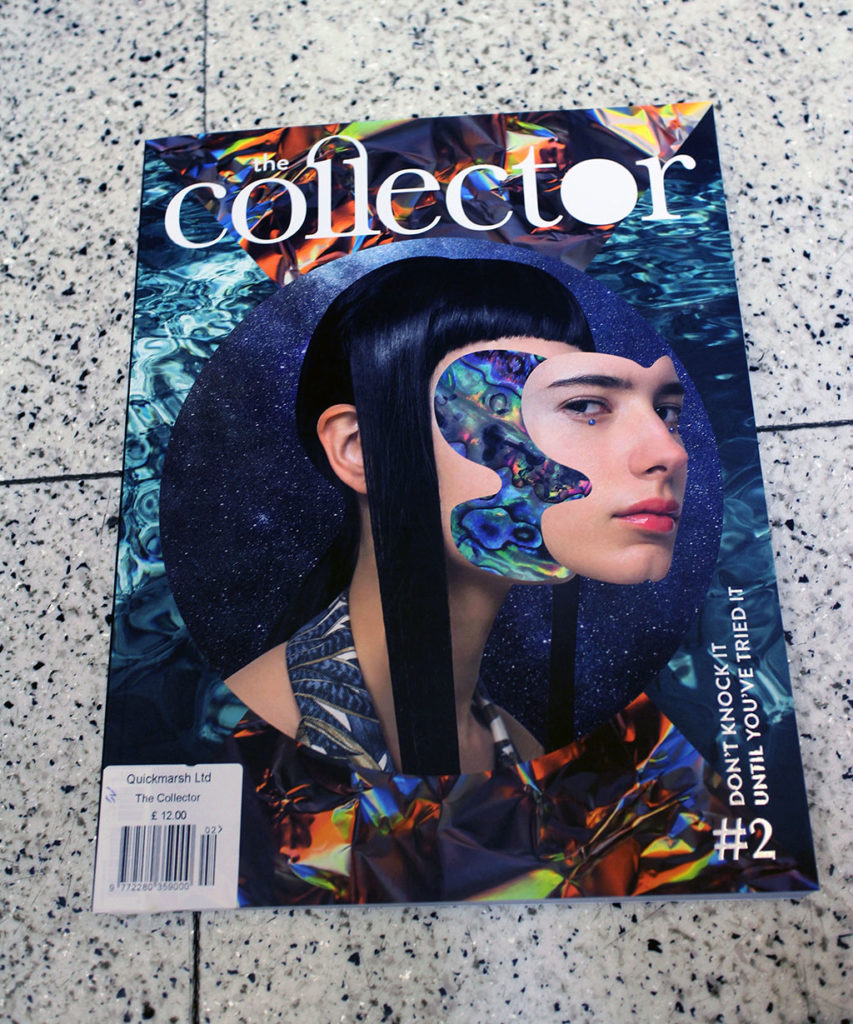 """IN """"Camden News"""" store to see """"the collector"""" magazine"""