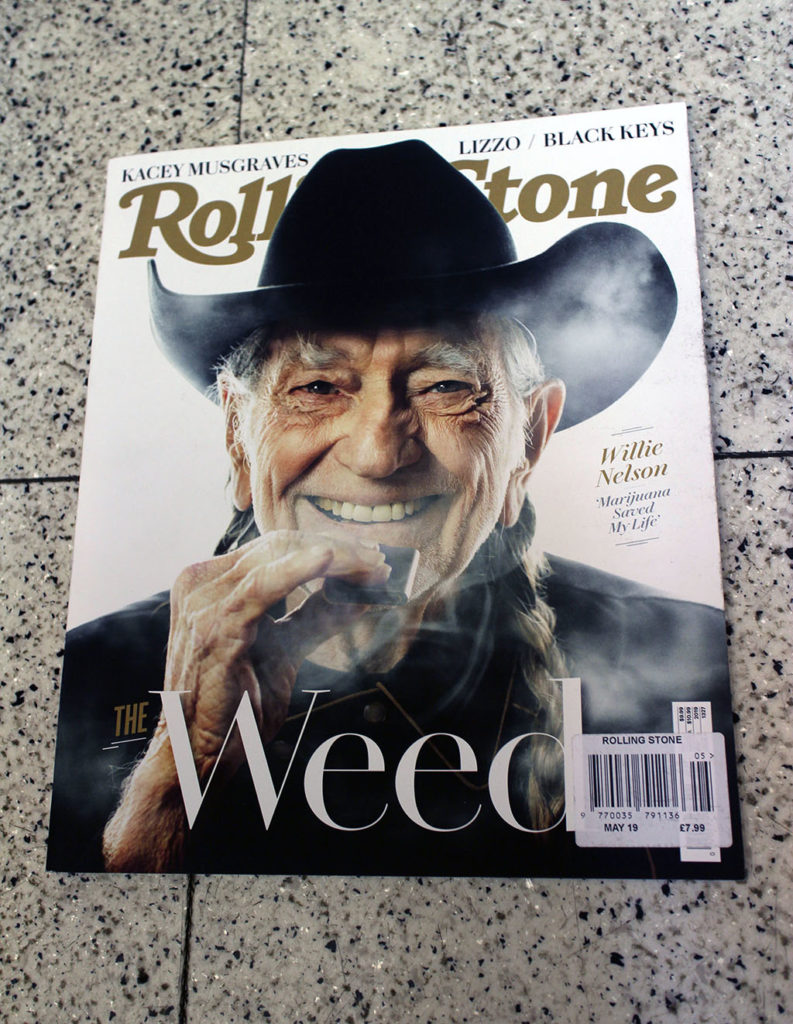 """IN """"Camden News"""" store to see """"rolling stone"""" magazine"""