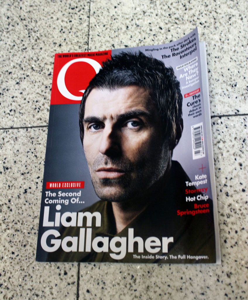 """IN """"Camden News"""" store to see """"Q"""" magazine"""