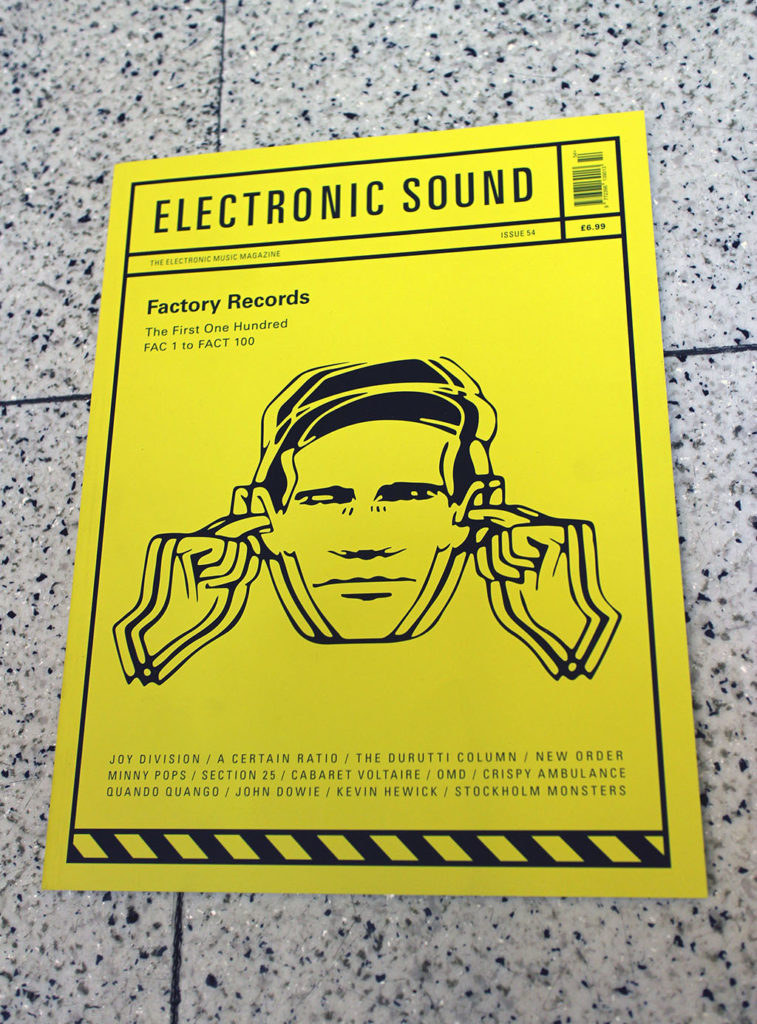 """IN """"Camden News"""" store to see """"electric sound"""" magazine"""