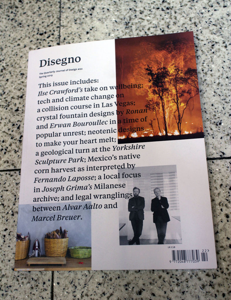 """IN """"Camden News"""" store to see """"disegno"""" magazine"""