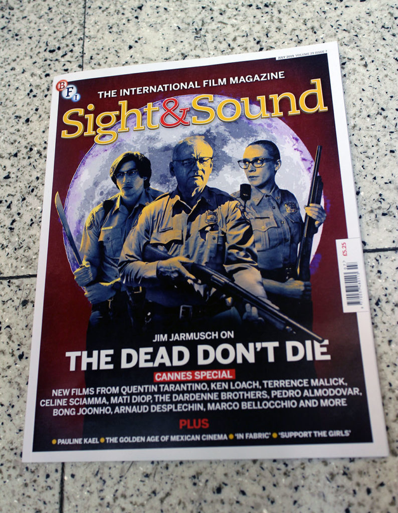 """IN """"Camden News"""" store to see """"sight & sound"""" magazine"""