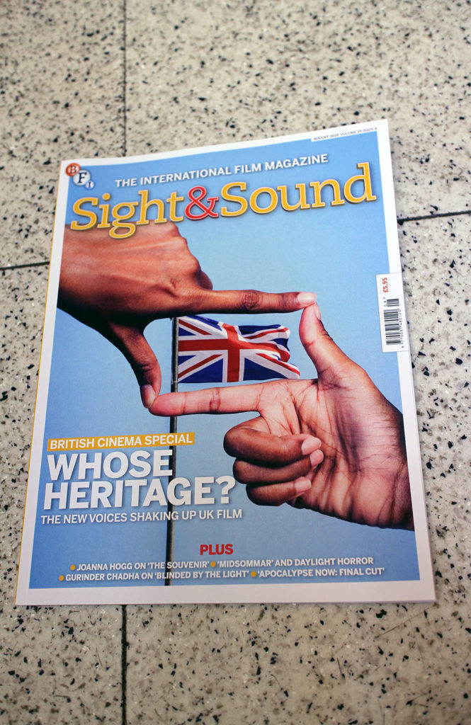 "IN ""Camden News"" store to see ""sight & sound"" magazine"