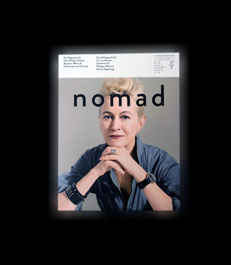 "IN ""Camden News"" store to see ""nomad"" magazine"