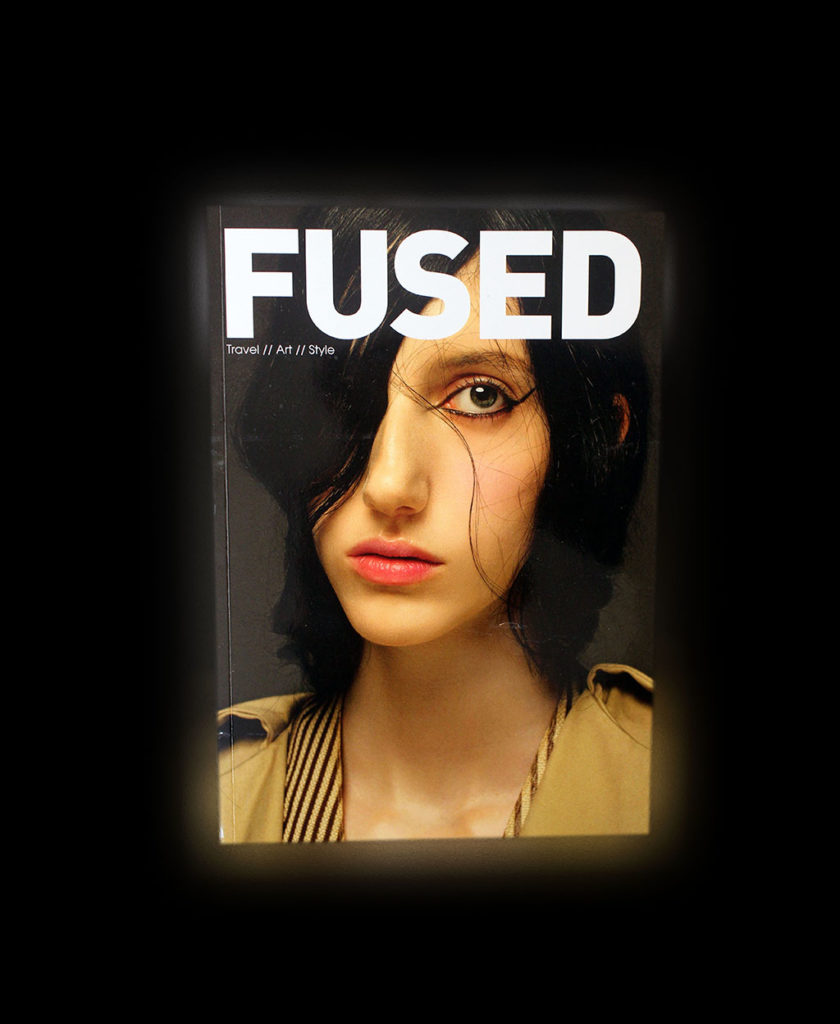 "IN ""Camden News"" store to see ""fused"" magazine"