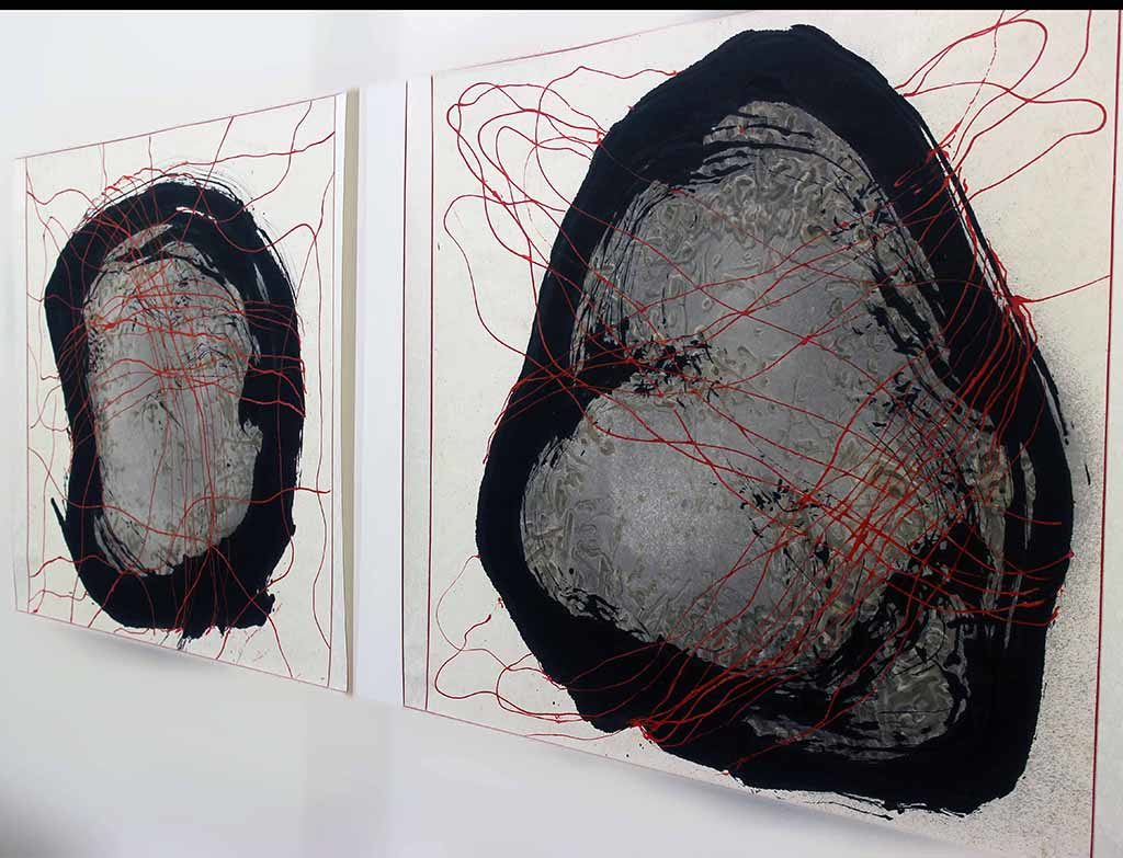 """""""I want the work to be indefinable, haunting, and primordial"""". - Ed Moses"""