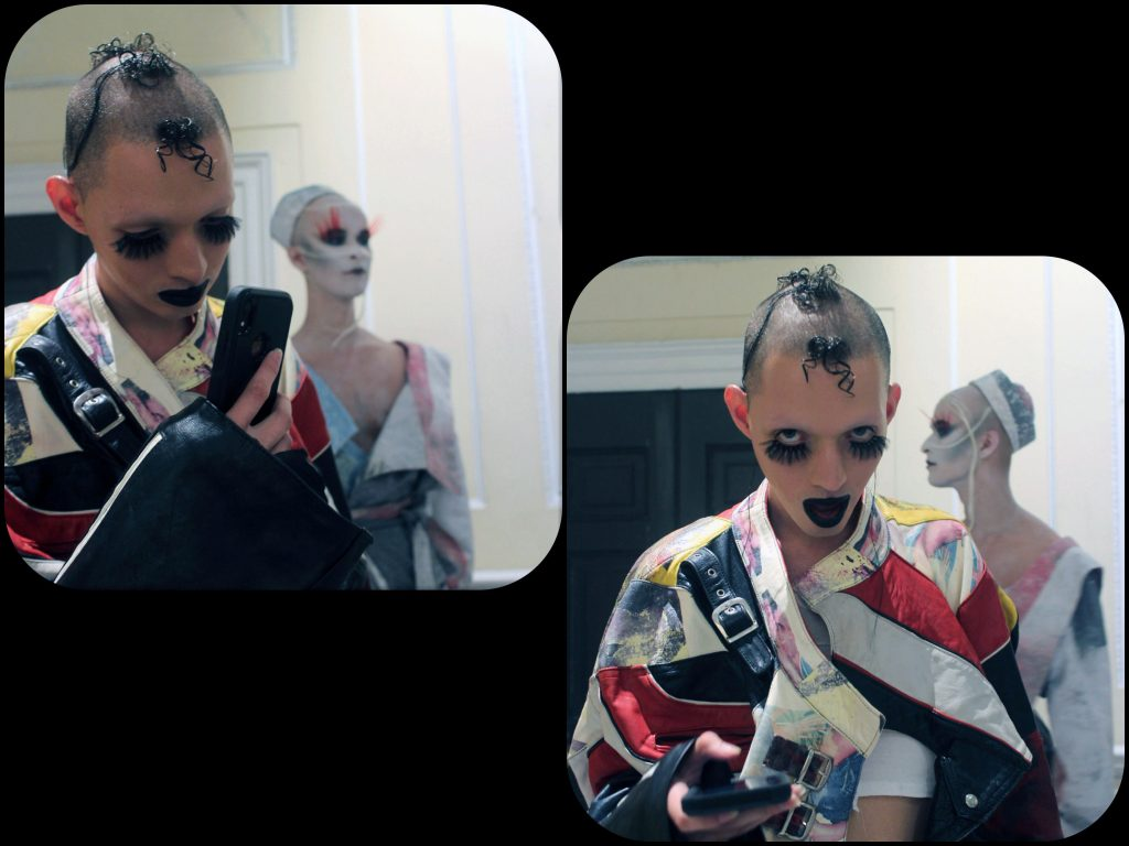 • 4me4you..introduces..features.. boy's BackSTAGE during London Fashion Week SS20..