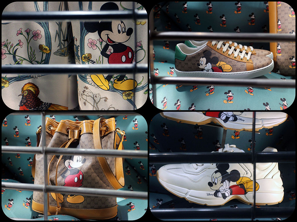 in store with…Gucci