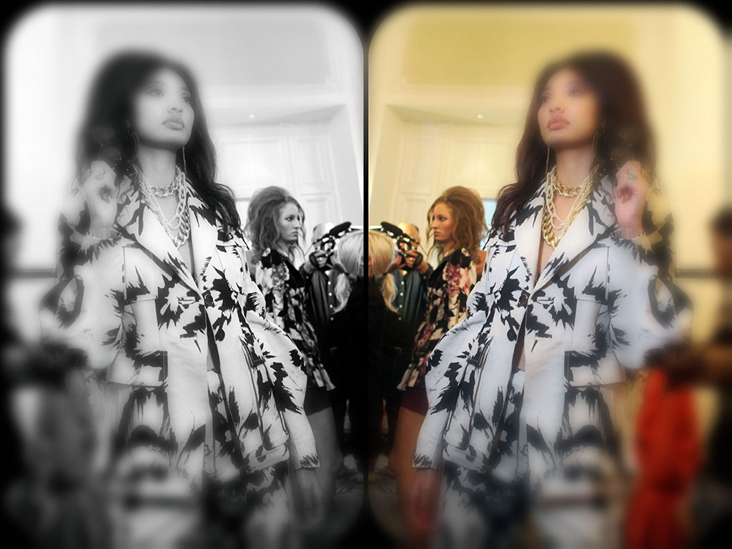 4me4you was invited backstage during Paul Costello's London Fashion Week SS20 showcase, capturing behind the scenes beautiful preparations.