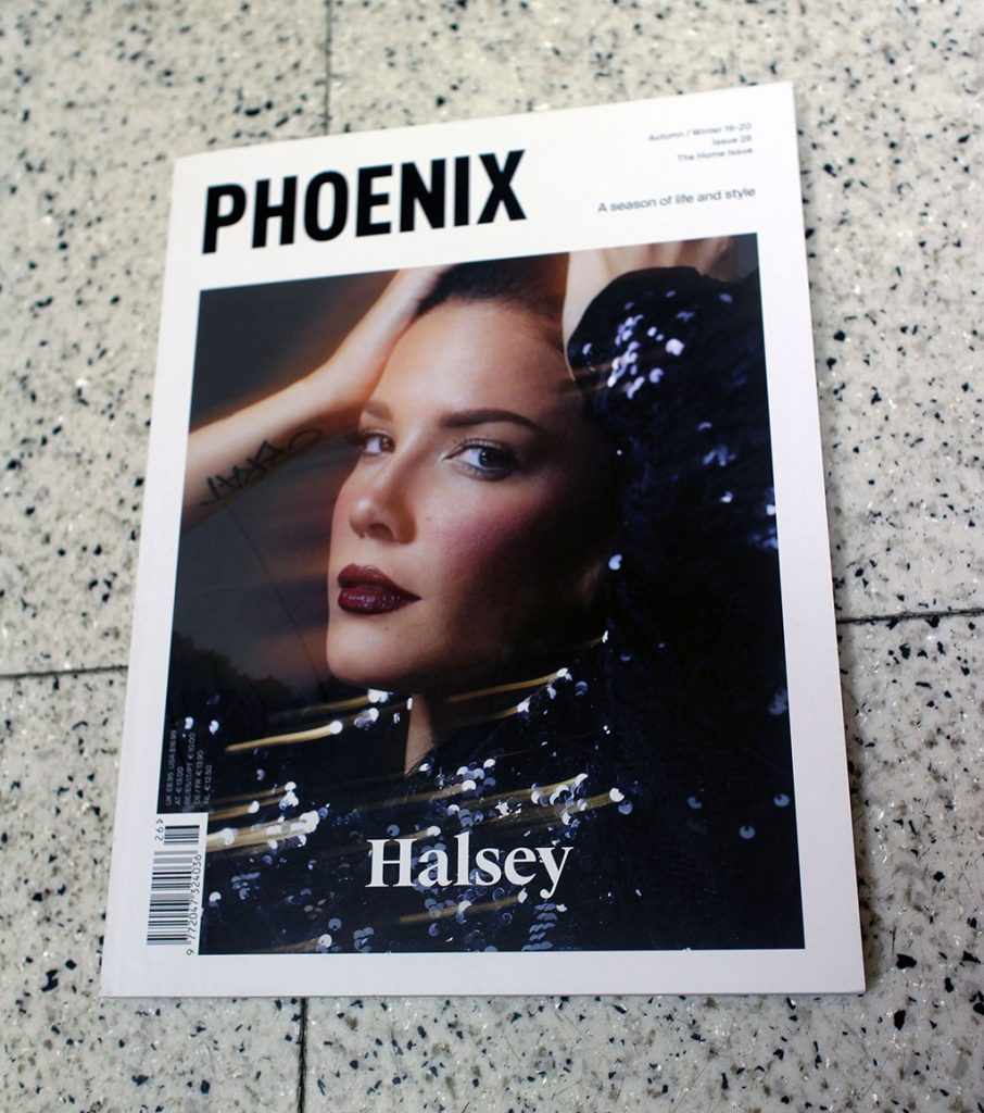 "IN ""Camden News"" store to see ""phoenix"" magazine"