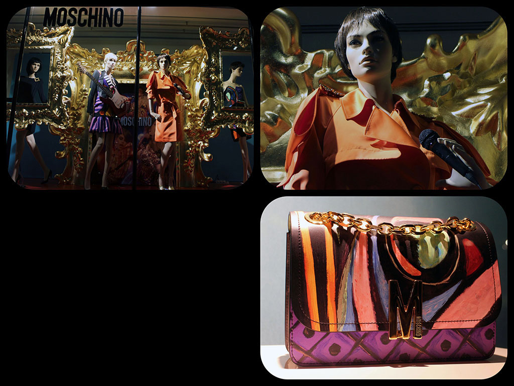 in store with…Moschino