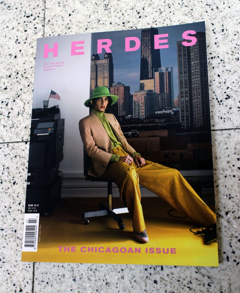 "IN ""Camden News"" store to see ""herdes"" magazine"