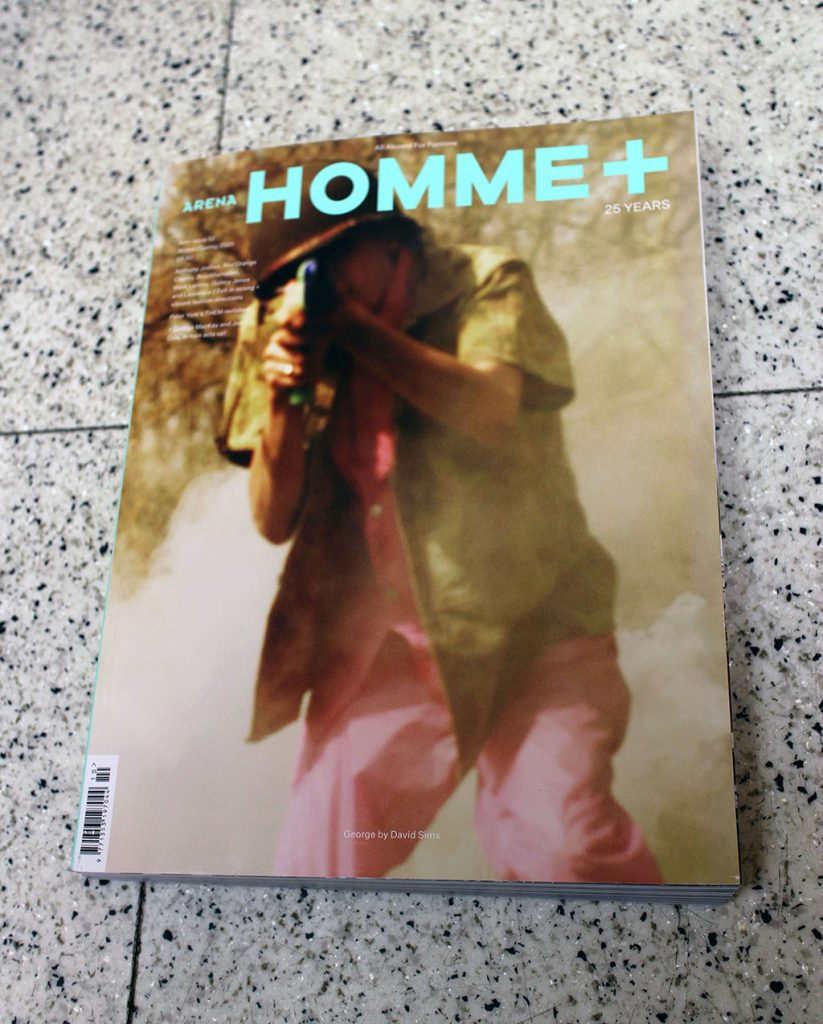 "IN ""Camden News"" store to see ""homme+"" magazine"