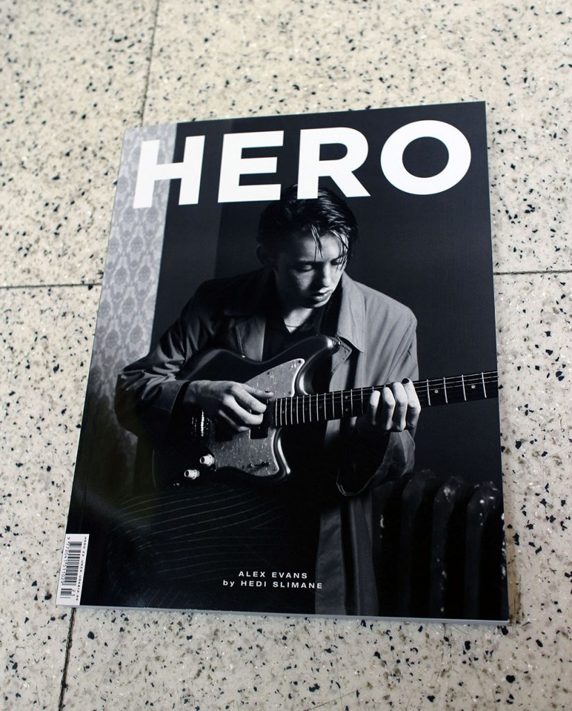 "IN ""Camden News"" store to see ""hero"" magazine"