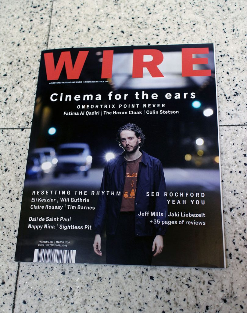 "IN ""Camden News"" store to see ""wire"" magazine"