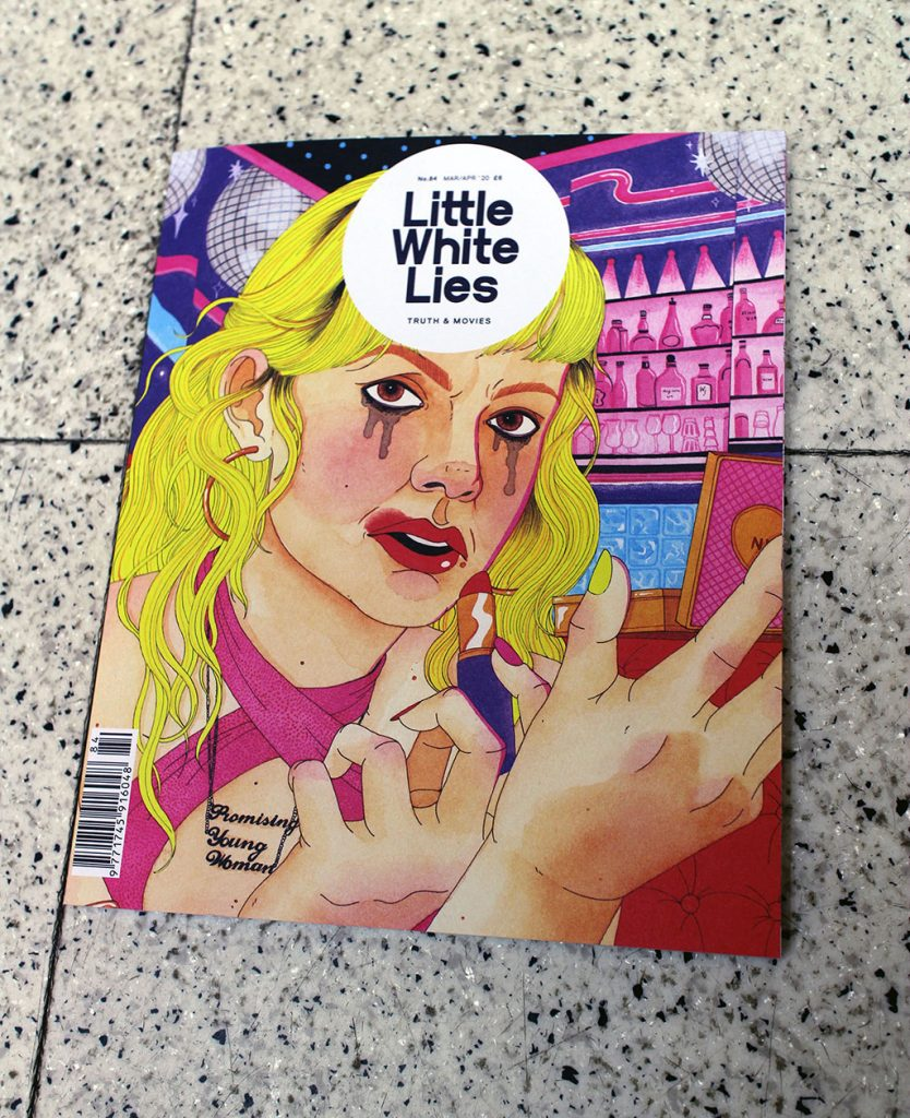 "IN ""Camden News"" store to see ""little white lies"" magazine"