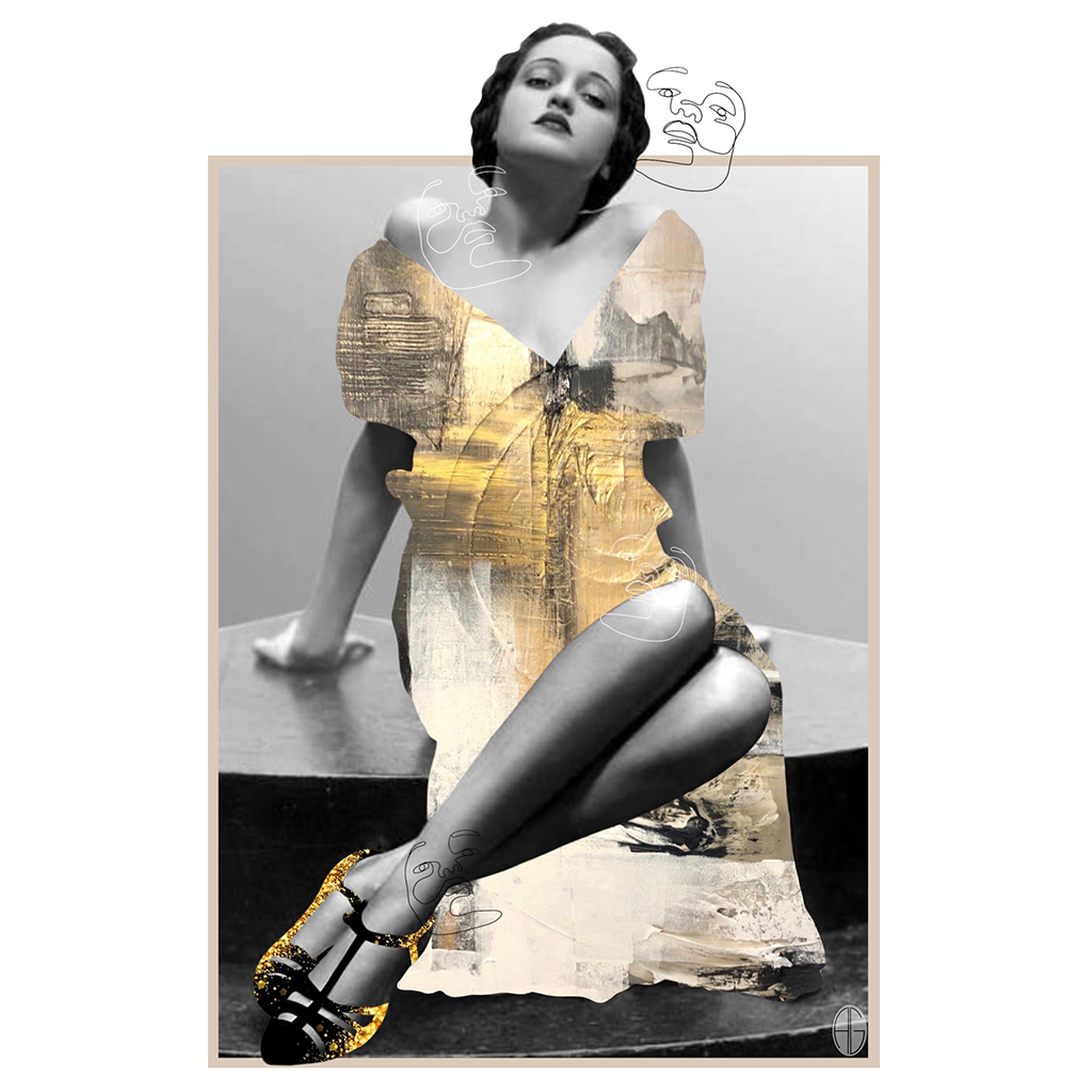 """4me4you features the artist: Andrea Gil - Collage Artist. Come with me, and feast your eyes on this wonderful collage artist Andrea Gil. """"I love everything about the post and the picture is simply beautiful.. SEE more collages: Instagram: https://www.instagram.com/andreagilart/?hl=en"""