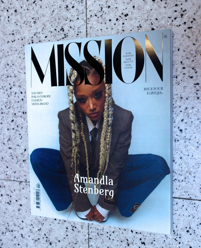 """IN """"Camden News"""" store to see """"missions"""" magazine"""