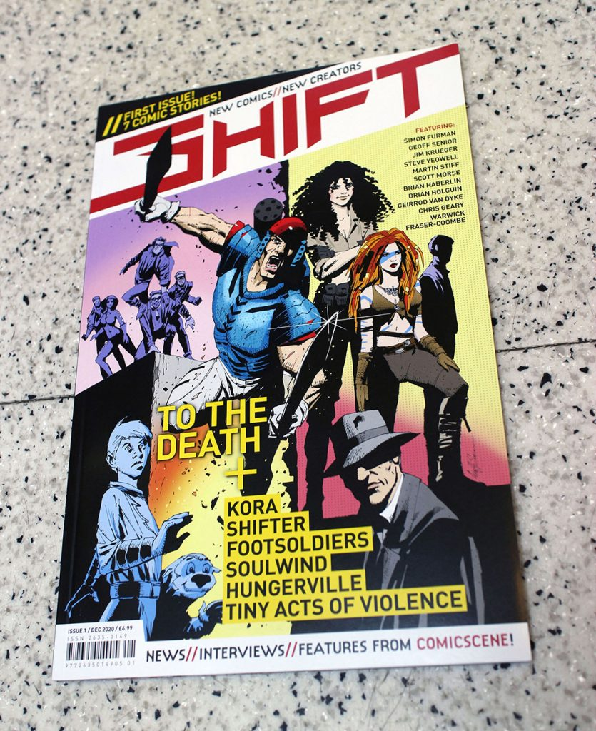 """IN """"Camden News"""" store to see """"shift"""" magazine . . https://www.facebook.com/shiftcomic/"""