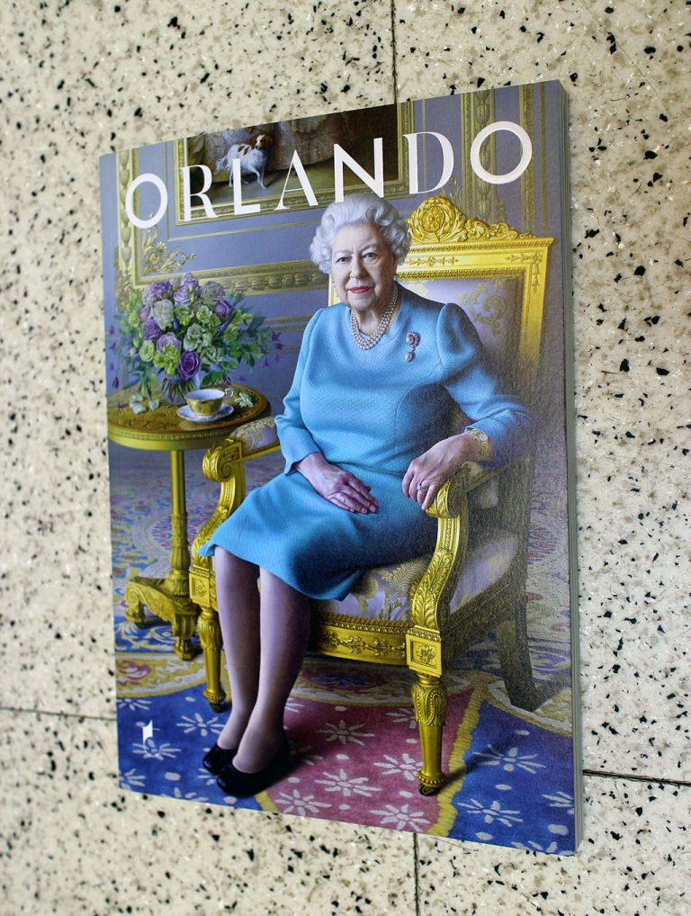 "IN ""Camden News"" store to see ""orlando"" magazine"