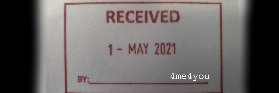..It's May 2021..